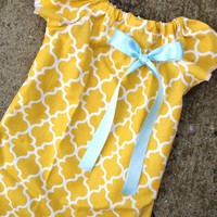 Yellow Baby Dress, Easter Dress, Peasant Dress, Kids Dresses, Photo Outfit, Toddler Dress, Newborn Dress, Baby Girl Easter Outfit