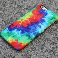 Abstract TieDye Watercolor Dream iPhone 6/6s Case iPhone 6/6s Plus Case iPhone 5c Galaxy S6 Edge Note 5 Case 005