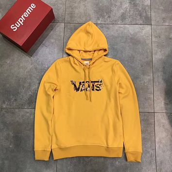 """VANS"" Women Fashion Hooded Top Pullover Sweater Sweatshirt"