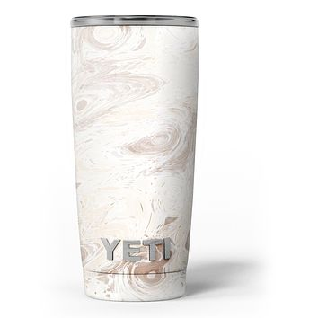 Slate Marble Surface V33 - Skin Decal Vinyl Wrap Kit compatible with the Yeti Rambler Cooler Tumbler Cups