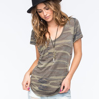 OTHERS FOLLOW Camo Womens Pocket Tee | Graphic Tees
