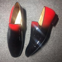 DCCK2 Cl Christian Louboutin Loafer Style #2309 Sneakers Fashion Shoes