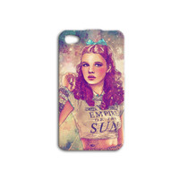 Beautiful Dorothy Wizard of Oz Artistic iPhone Case Cute Pretty iPod Case iPhone 4 iPhone 5 iPhone 5s iPhone 4s iPhone 5c iPod 4 iPod 5 Case