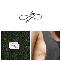 Right Direction - Temporary Tattoo (Set of 2)