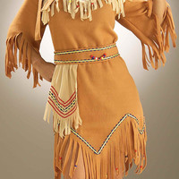 Halloween Costumes Native American Maiden Adult Costume
