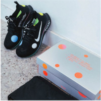 OFF-WHITE x Nike Zoom Fly Mercurial Flyknit A02115-001 Black/White size US 9