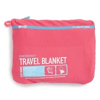 Flight 001 Travel Blanket - Pink