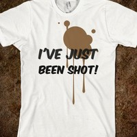 Fat Amy: I'VE JUST BEEN SHOT - Glam Tops