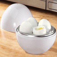 2017 New Arrive Chicken Shaped Microwave 4 Eggs Boiler Cooker Novelty Kitchen Cooking Appliances Steamer Home Tool Drop