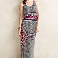 Leoti Maxi Dress by Anthropologie Red Motif