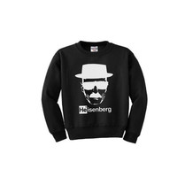 BREAKING BAD Heisenberg Black Sweatshirt Unisex Jumper Sweater Jesse Pinkman