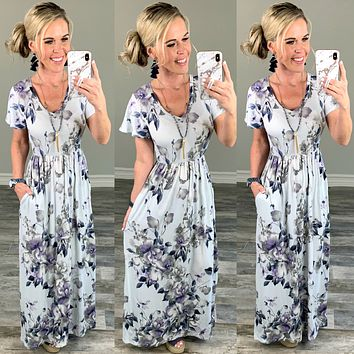 Could this Be Love Floral Maxi Dress