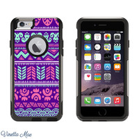 iPhone Otterbox Commuter Series Case for iPhone 5/5s, 6/6s, 6 Plus/6s Plus Beach Aztec Tribal Pattern Girls Cell Phone Case Otter Box 1118