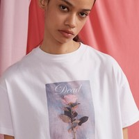 Lazy Oaf Dead Already T-shirt - Everything - Categories - Womens