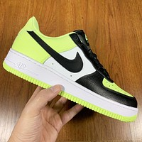 Nike Air force 1 1 Low Barely Volt New fashion hook sports leisure couple shoes