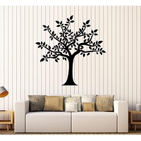 Vinyl Wall Decal Tree Leaves Room Home Decoration Stickers Mural Unique Gift (383ig)