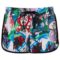 Marble Paint Runner Shorts - New In This Week - New In - Topshop
