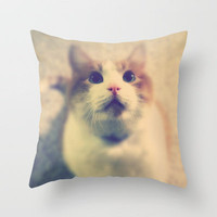Pink Nose Throw Pillow by Josrick | Society6