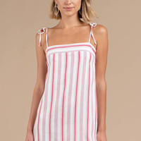 Independent Woman Stripe Shift Dress
