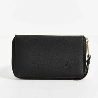 Herschel Supply Co. Thomas Full-Zip Leather Wallet- Black One