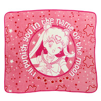 SAILOR MOON THROW BLANKET