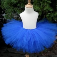 Bright  Blue Teen or  Adult Tutu