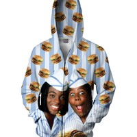 Good Burger Zip-Up Hoodie