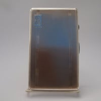 Antique Sterling Silver Art Deco Cigarette Case Birmingham England 1921