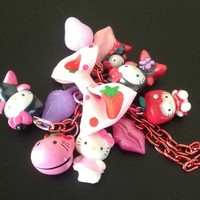 Hello Kitty Charming Pink Necklace