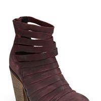 Women's Free People 'Hybrid' Strappy Leather Bootie,