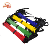 2016 Outdoor Sports New Durable 9 Rung Agility Ladder for Football Soccer Speed Training Equipment 5 Meters