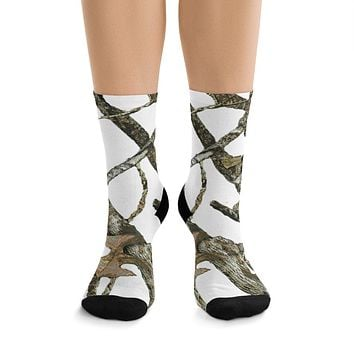 White Camo Socks Are Top Sellers