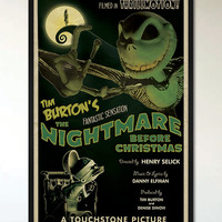 The Nightmare Before Christmas - 1930's Retro Alternative Movie Poster