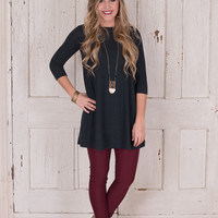 Easy Decision Tunic/Dress - Teal