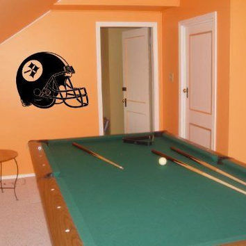 Wall Decal NFL Pittsburgh Steelers 002 FRST