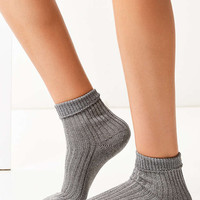 Out From Under Glittery Foldover Crew Sock - Urban Outfitters
