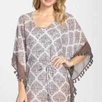 Women's Tommy Bahama 'Floral Medallion' Cover-Up Tunic