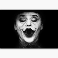 Batman Dark Knight gift Christmas MQ3184 Batman The Joker Jack Nicholson Black White Vintage Hot Art Poster Top Silk Canvas Home Decor Picture Wall Printings AT_71_6