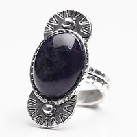 Free People Womens New Moon Ring