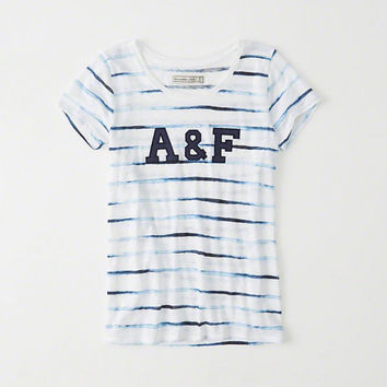 Womens Logo Graphic Tee | Womens New Arrivals | Abercrombie.com