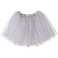 Sparkle Ballerina Big Girls Tutu (3-layer)