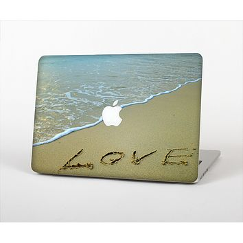 "The Love beach Sand Skin Set for the Apple MacBook Pro 13"" with Retina Display"