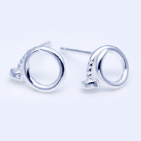 Personalized fashion  925 Sterling Silver earrings ,  a perfect gift