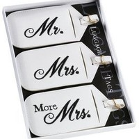 Lillian Rose Mr. and Mrs. Luggage Tags, Set of 3