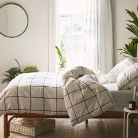 Distressed Check Duvet Set | Urban Outfitters