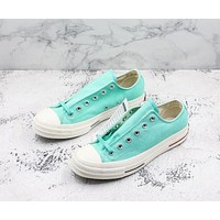 Converse Chuck Taylor All Star 1970s Low Top Heritage Green Canvas Sneakers