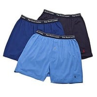 Classic Cotton Knit Boxer 3-Pack