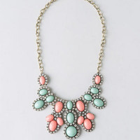 GENOA CABOCHON STATEMENT NECKLACE