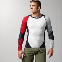 Reebok Men's Reebok CrossFit CNTRL II Compression Long Sleeve Long Sleeve Tops | Official Reebok Store