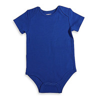 Mayfair Infants Wear Short-Sleeve Bodysuit in Royal Blue